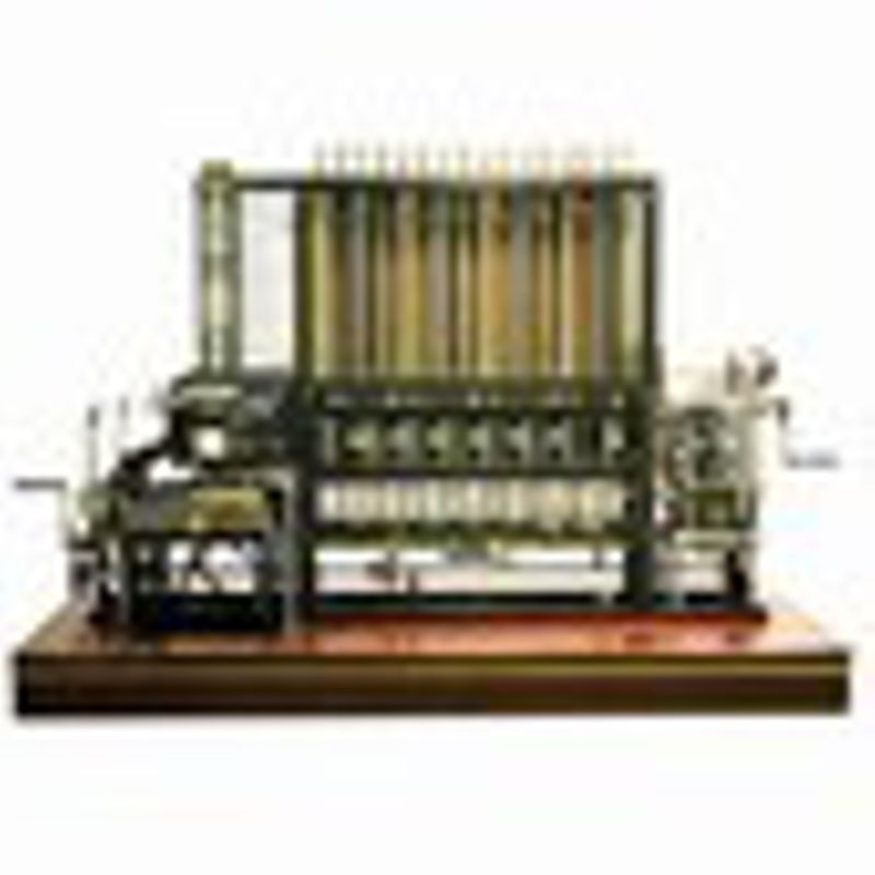 Modern construction, Difference Engine No. 2, 2005