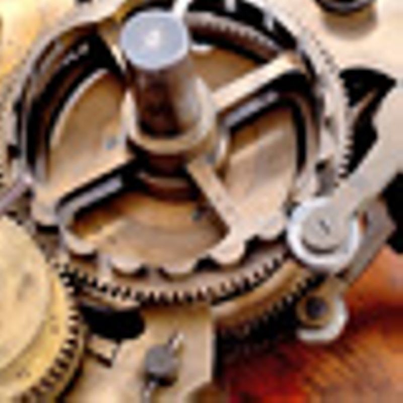 Difference Engine No. 1, detail, 1832
