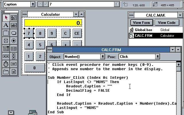 Visual Basic 1.0 for WindowsImage from https://winworldpc.com/product/microsoft-visual-bas/10