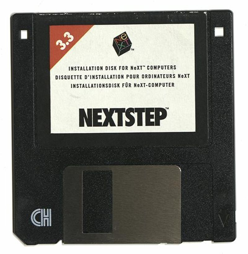 After Apple acquired NeXT in 1997, its NEXTSTEP operating system became the basis for Mac OS X and later iOS. Collection of the Computer History Museum, 102707236 and 102705564.