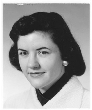 Ann Hardy pictured in the mid-1950s when she began her career in software.