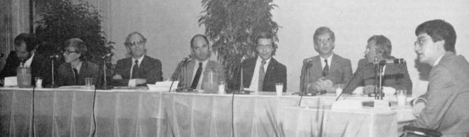 Future of Personal Computers panel, October 15, 1981.