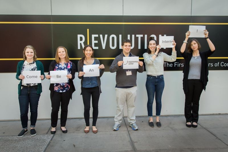 One of my favorite group shots standing outside the Museum entrance. From left to right: Emily Parsons (UCLA), Kerry Dubyk (Rutgers University), Clara Chiu (Scripps College), Warren Glasner (Carnegie Mellon University), Kate Hanks (Smith College), and Bree Lohman (London School of Economics and Columbia University).