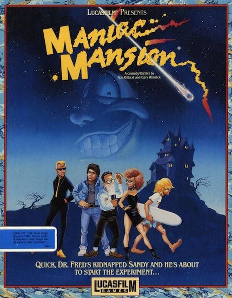 Maniac Mansion for the Atari ST (Gift of Maurine Starkey), CHM# 102715662