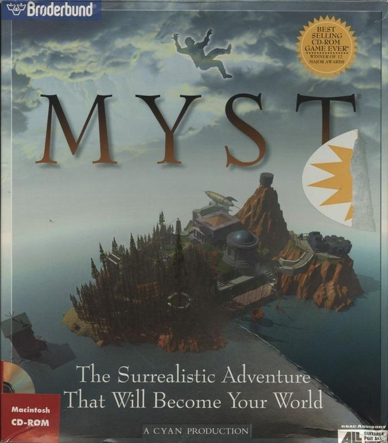 Myst. Collection of the Computer History Museum, 102675589.