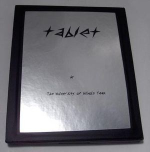 Tablet: PC of the Year 2000 prototype from the University of Illinois (CHM# X876.88)