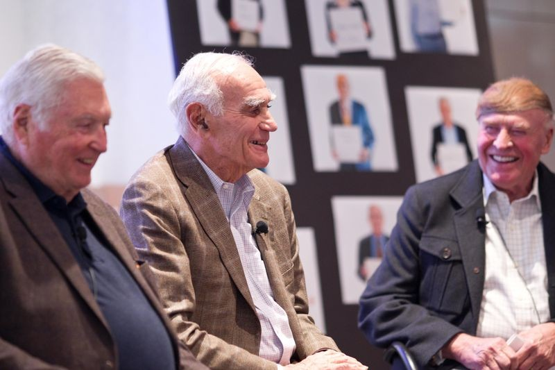 "Venture capitalists Franklin ""Pitch"" Johnson, William ""Bill"" Draper III, and C. Richard ""Dick"" Kramlich discuss the industry they helped to build."