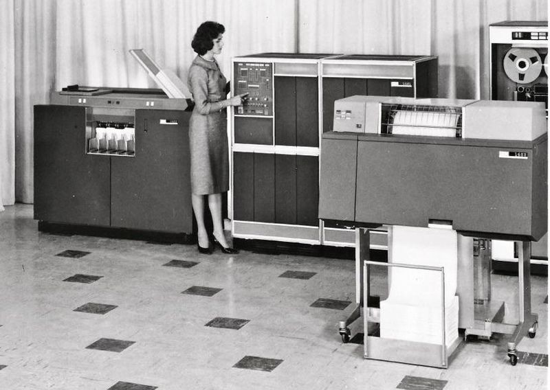 IBM 1401 Promotional Photo