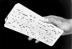 IBM's 80-column punched cards