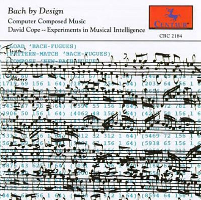 Bach by Design (1997) from Centaur Records