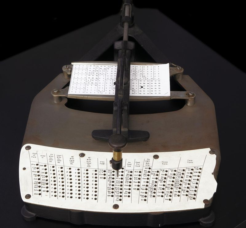 Pantograph Card Punch, ca. 1900. Collection of the Computer History Museum, X1099.92/Photo: © Mark Richards.