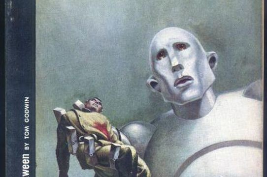 Astounding Science Fiction, October 1953. Cover art by Frank Kelly Freas. Image credit: Chris Holmes.