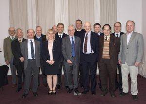 The BBC Micro Team at a gathering in 2008.