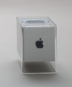 Macintosh G4 Cube in the collection of the Museum of Modern Art, New York
