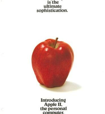 When it debuted in 1977, the Apple II was promoted as an extraordinary computer for ordinary people. This ad also seems to foreshadow future Apple advertisements. (1978)