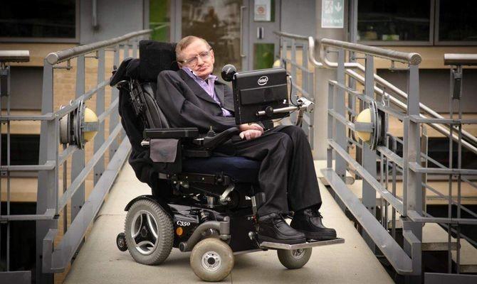 Stephen Hawking, 1942−2018. Image: howitworksdaily.com.