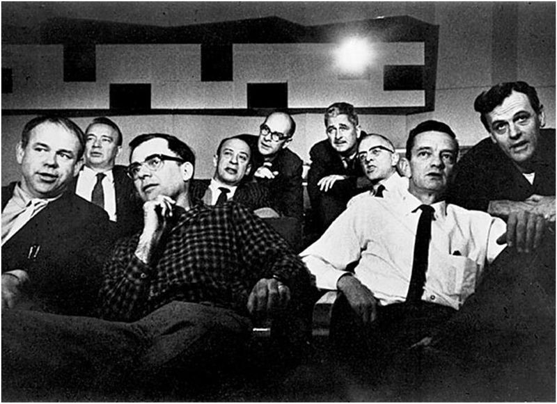 """The men pictured here are famed as """"Disney's Nine Old Men."""" They were the most accomplished animators of their, and some say, any generation. During its peak, from the 1930s to 1960s, Walt Disney Productions created the first full-length animated movie-Snow White, along with a series of acclaimed shorts starring Mickey Mouse, Donald Duck, Goofy and many other famous characters still front and center in the American consciousness. Today, many would say that that Pixar has taken Disney's place in the animation world. One of Ed Catmull's strongest influences as he grew up was Walt Disney and Disney animation."""