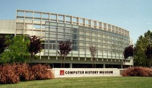 Computer History Museum, new building on Shoreline Boulevard in Mountain View, 2002