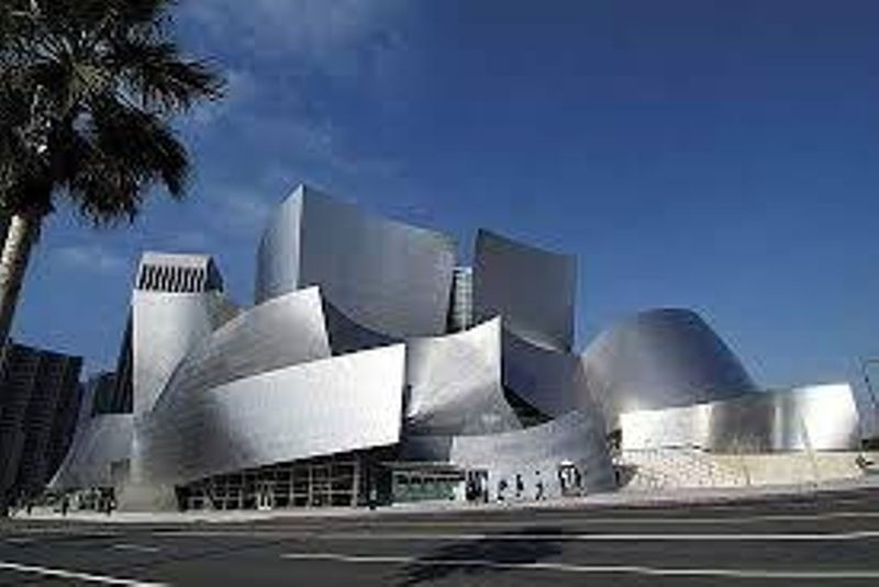 The Walt Disney Concert Hall in Los Angeles designed by Frank Gehry