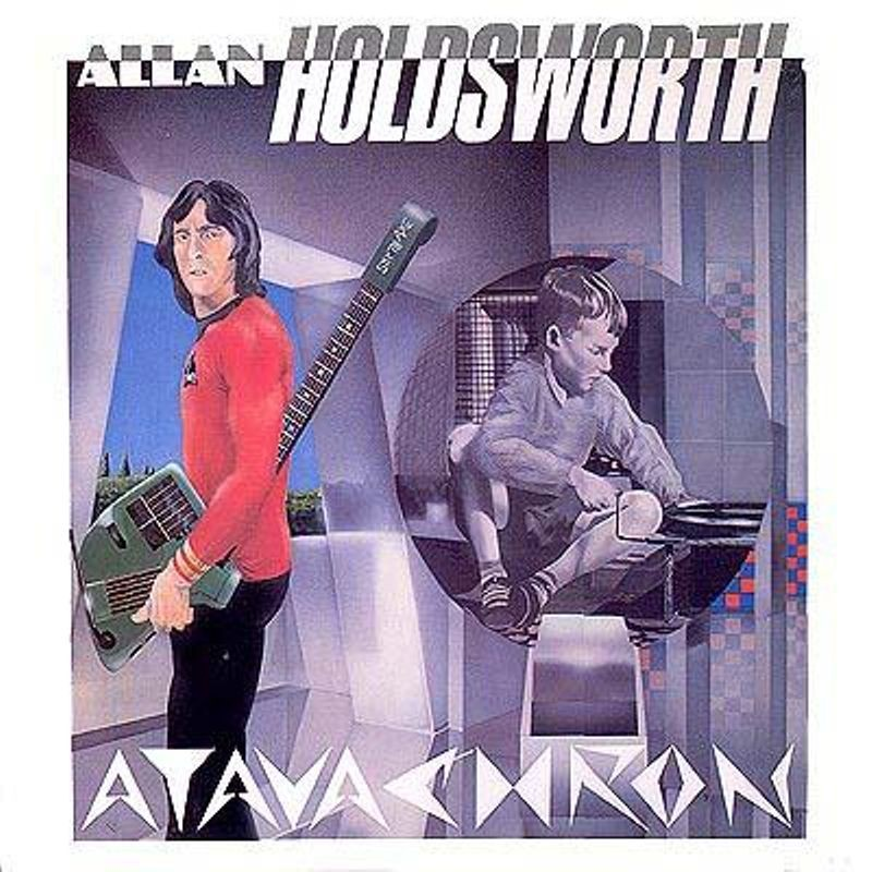 Allan Holdsworth was one of the most visible supporters of the SynthAxe, including playing it on his album Atavachron