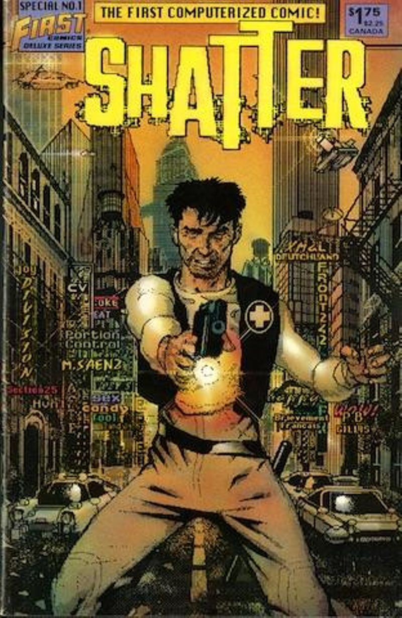 Cover for Shatter special number 1, 1985