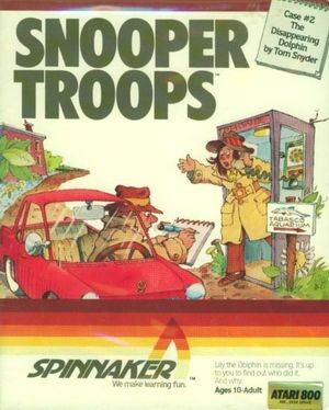 Tom Snyder Productions' Snooper Troops, one of the most successful educational software series of the 1980s.