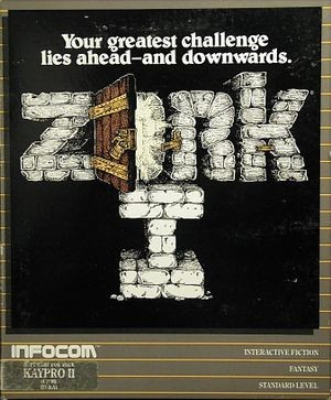 Zork was initially designed for the PDP-10, then split into three games and sold as three separate games by Infocom.