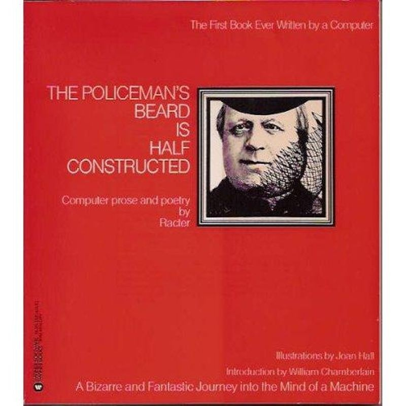 Cover to The Policeman's Beard is Half-Constructed