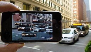 Augmented reality (AR) brings the power of interactive maps to the real world as you experience it