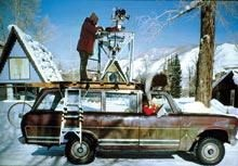 Aspen Movie Map camera vehicle, ca. 1978