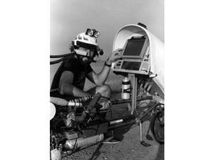"Today we take mobility for granted. When technical writer Steve Roberts decided to be a ""high tech nomad"" in the 1980s, it was a radical dream. Eventually his writings about the journey overtook his day job. He pedaled over 17,000 miles.