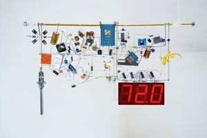 "Jim Williams, ""Living Room Thermometer"" sculpture, 2008 Source: Fran Hoffart"