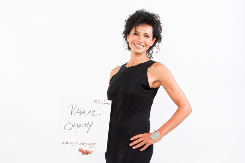 """""""Radical Empathy"""" is the key, according to Julie Hanna, founder and executive chair of the board at Kiva"""