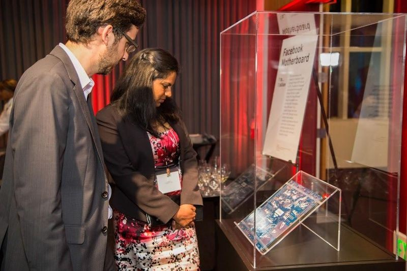 Special displays of artifacts from eight legendary firms illustrate exponential impact