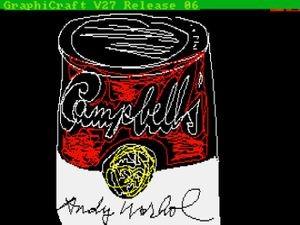 Andy Warhol, Campbell's, 1985, ©The Andy Warhol Foundation for the Visual Arts, Inc.
