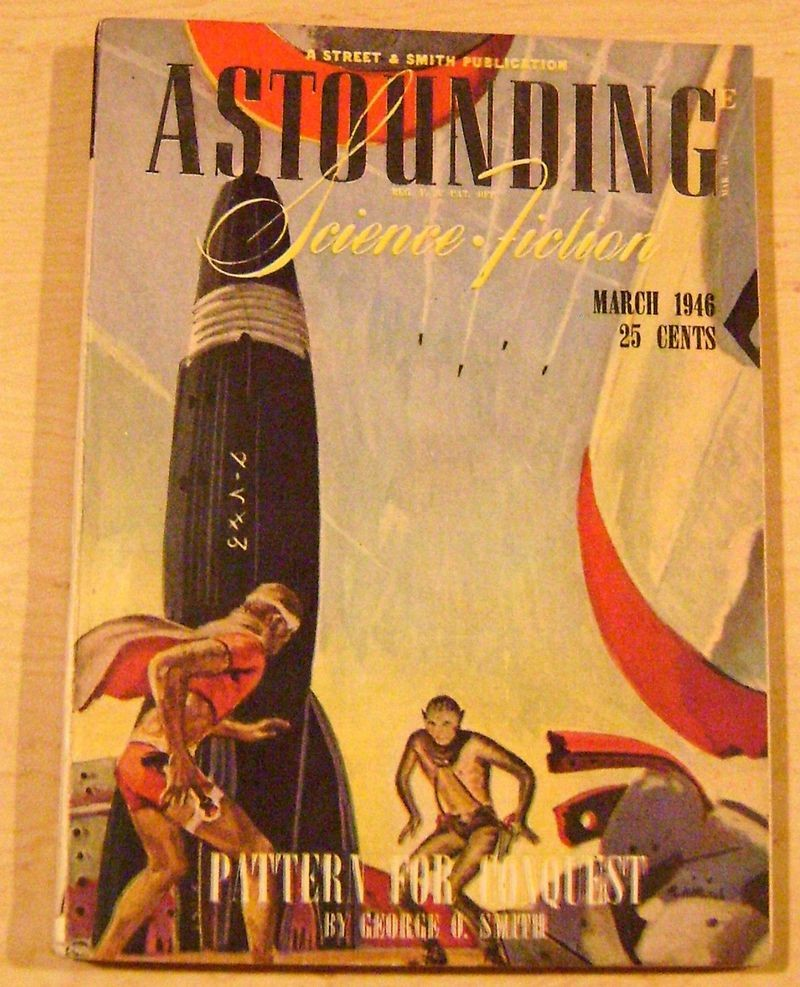 Astounding Science Fiction, March 1946 from the collection of Bradford Lyau