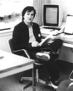 Charles Simonyi at Xerox PARC in 1980