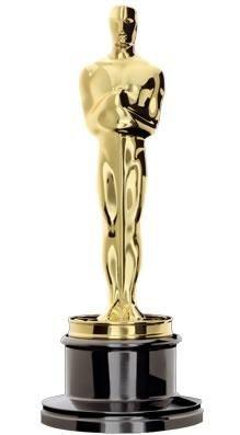 """Academy Award trophy, dubbed """"Oscar"""""""