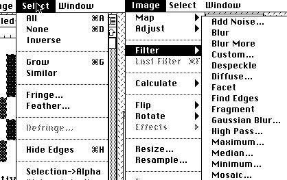 There were some sophisticated selection tools, and a good assortment of image filters. One important missing feature, which came with version 3 in 1994, was the ability to divide an image into multiple layers.