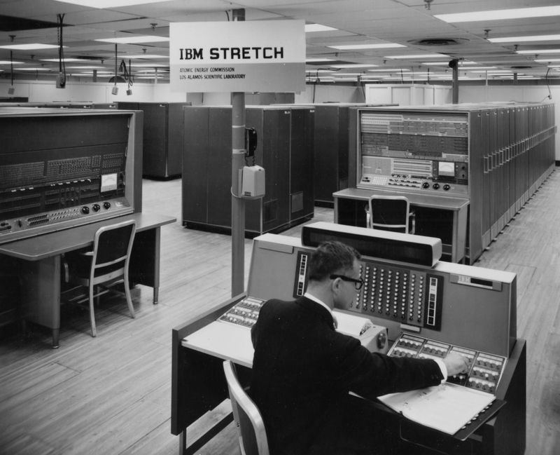 Enrich Bloch was the project engineer on the legendary IBM Stretch and was responsible for manufacturing the IBM System/360.