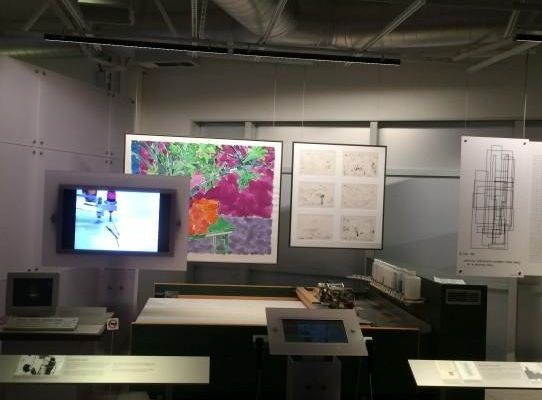 AARON Paint System on exhibit in Revolution: the First 2000 Years of Computing