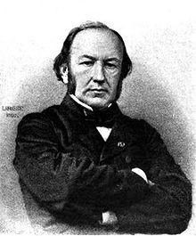 French physiologist Claude Bernard (1813-1878)