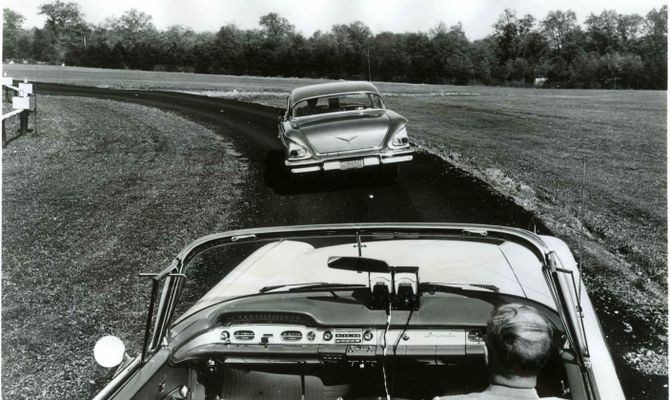 Autonomous Highway System tests, 1950s