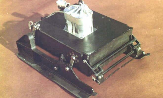 Soviet Mars Prop-M Rover, circa 1971. Both the Mars 2 and Mars 3 missions carried landers with sled-like Prop-M autonomous rovers, which were meant to roam short distances around the lander on an umbilical cord. Unfortunately, both landers failed. Credit: NASA