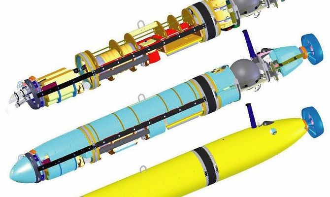 Monterey Bay Aquarium Research Institute (MBARI) Autonomous Underwater Vehicle (AUV)