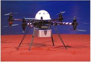 Matternet Pilot #1 Co-axial Octocopter Drone, 2012