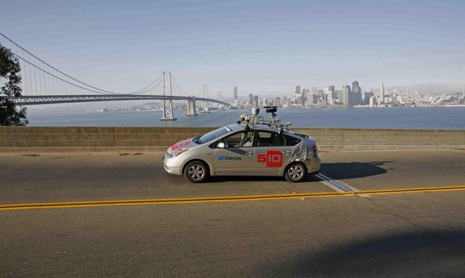 Pribot, prototype pizza-delivery vehicle