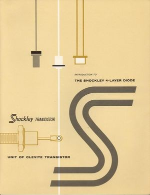 Shockley 4-Layer Diode Brochure Cover. Photo: Clevite Corporation