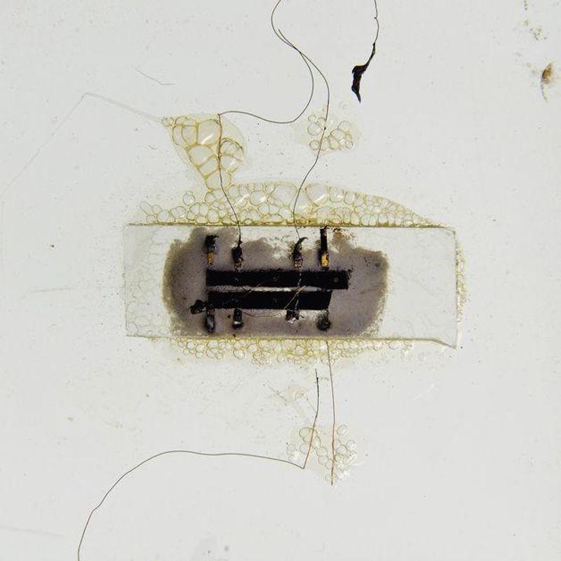Kilby Phase Shift Oscillator Circuit (1958). Photo: Christie's Auction House
