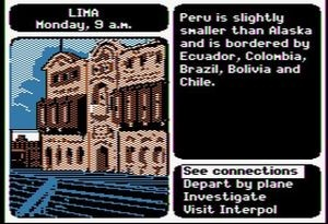 Screenshot from Where in the World is Carmen Sandiego?